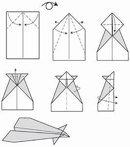 Conrad Paper Airplane Step By Step Instructions