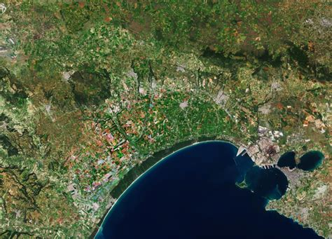 Earth From Space Gulf Of Taranto Italy Spaceref