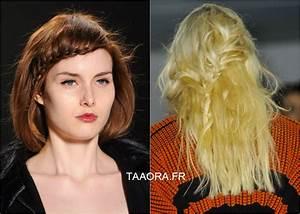 Tendances Coiffure 2015 : les coiffures tendance de l hiver 2015 en photos taaora ~ Melissatoandfro.com Idées de Décoration