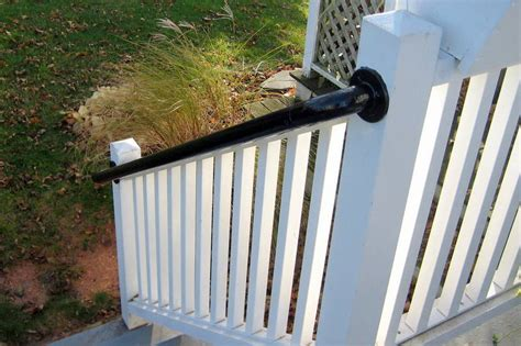 Steel Deck Handrails by Easy To Install Metal Deck Railing