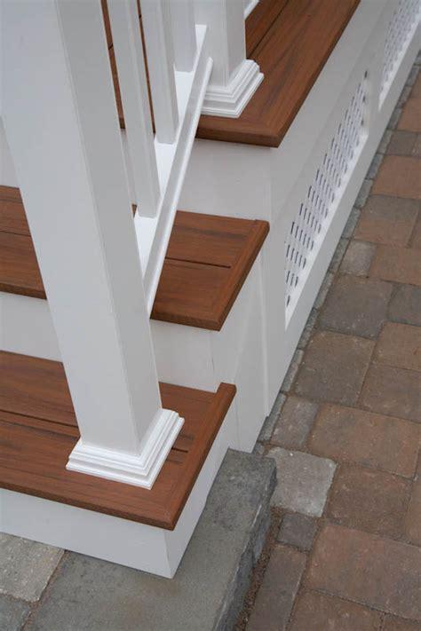 composite porch stairs  railing glastonbury ct