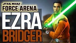 Star Wars Force Arena Characters - Ezra - YouTube