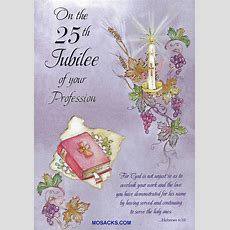 On The 25th Jubilee Of Your Profession Greeting Card Jubs87447