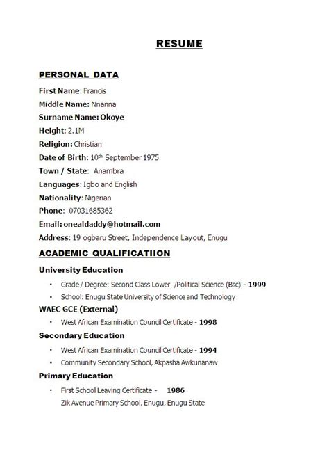 sle resume for ojt banking and finance 46 awesome