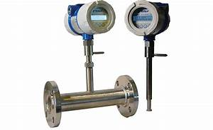 Thermal Mass Flow Meter With Datalogging