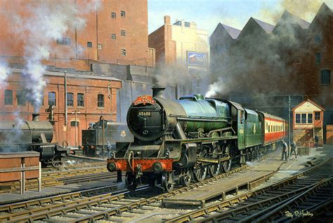 Boat Paint Manchester by Railway Paintings By Philip D Hawkins Fgra
