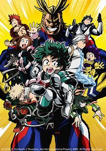 Blockbuster, Anime, Series, My, Hero, Academia, U0026, Twin, Stars, Exorcists, To, Air, In, Asia, On, The, Same, Day