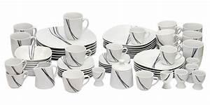 Kombiservice 62 Teilig : kombiservice campania 62 teilig porzellan 6 personen tafelservice kaffeeservice ebay ~ Watch28wear.com Haus und Dekorationen