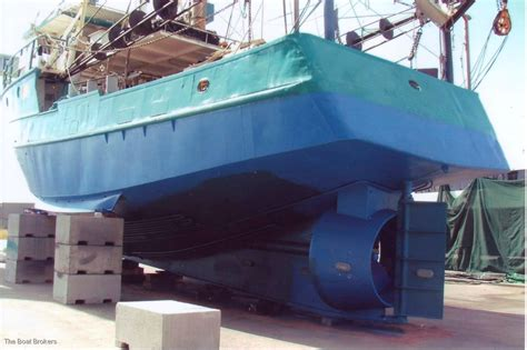 Commercial Fishing Boat Licence For Sale Qld by Steel Prawn Trawler Commercial Vessel Boats Online For