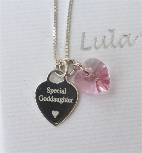 a special goddaughter gift free engraving