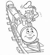 Train Coloring Pages Printable Toddler sketch template