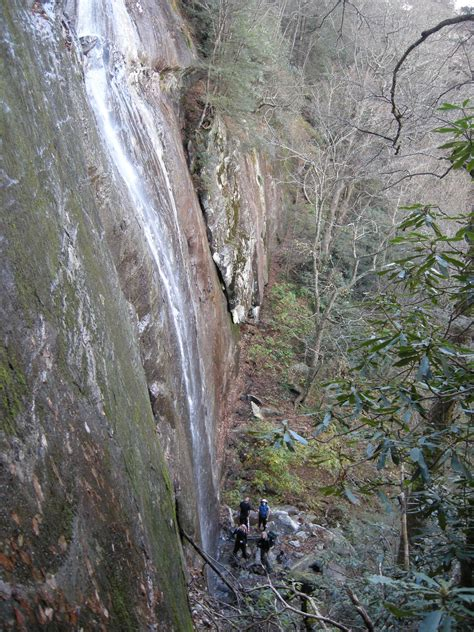 cliff jumping the sinks smoky mountains the fortress of woolly tops endless streams and forests