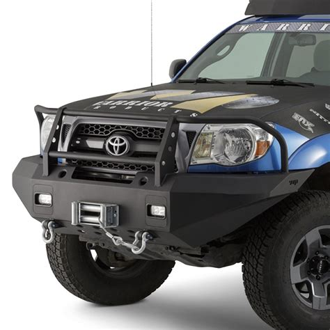 Toyota Bumpers by Warrior 174 Toyota Tacoma 2010 Width Black Front Winch