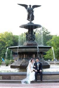 Bethesda Fountain Central Park Wedding