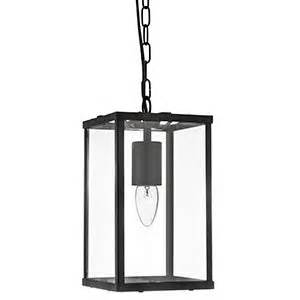 Black Lamp Post Outdoor by Large Hanging Lantern Square Black With Clear Glass