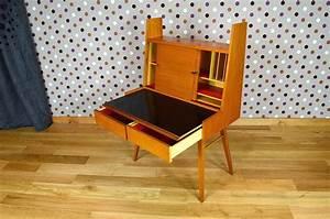 Bureau Secretaire Vintage : secr taire design scandinave wilhelm renz vintage 1955 ~ Teatrodelosmanantiales.com Idées de Décoration