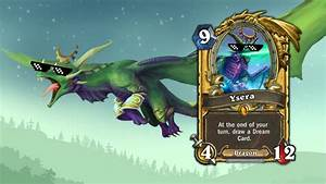 Ysera so OP ( my first legendary card) Hearthstone Priest ...