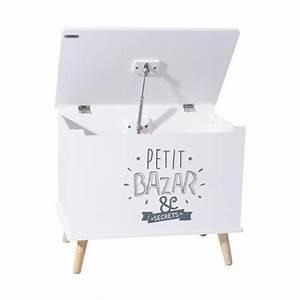 Coffre Rangement Enfant : coffre rangement enfant petit bazar blanc ~ Teatrodelosmanantiales.com Idées de Décoration