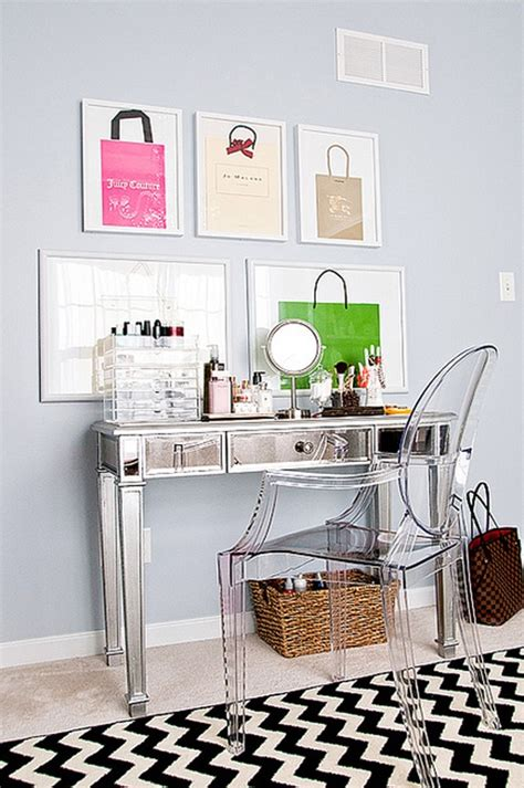 ghost chair for vanity the makeup vanity design home decorating