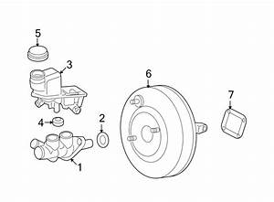 Ford Fusion Brake Master Cylinder  Wabs  Components  Dash
