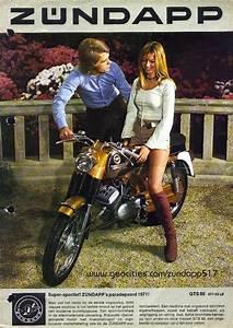 ZNDAPP Girl With Patronising Bloke Motorcycles