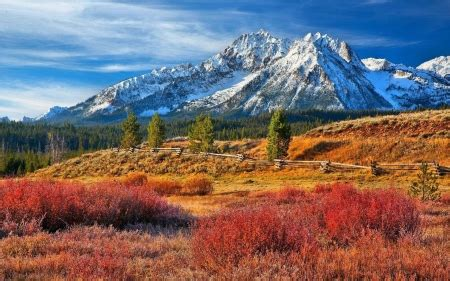 idaho mountains nature background wallpapers