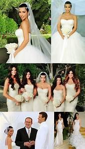 Kim kardashians wedding dress by vera wang plus kate for Kim kardashian s wedding dress