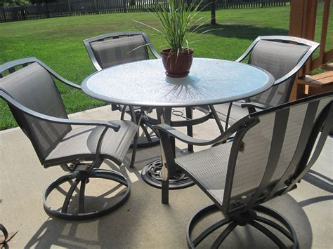 awesome black metal patio furniture witsolut