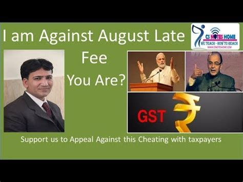 For instance, if your balance is: waive august 3b late fee Penalty - support to appeal against GST late fee - Cheating with ...