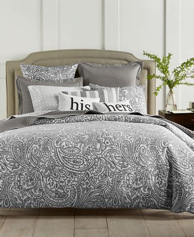 charter club damask designs stone paisley  thread count