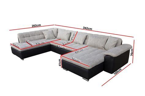 canapé lit pas cher canapé d 39 angle convertible en u alta iii design