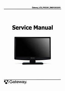 Gateway Ev700 Service Manual Download  Schematics  Eeprom