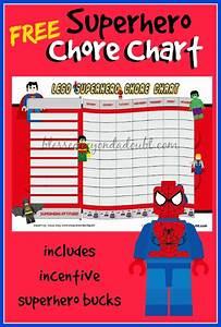 Msm Chart Free Printable Lego Superhero Chore Chart Money Saving