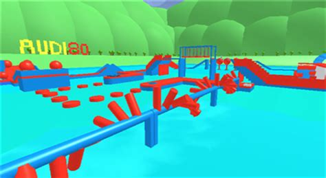 Thejkid's Roblox Updates Wipeout Obby Place Review