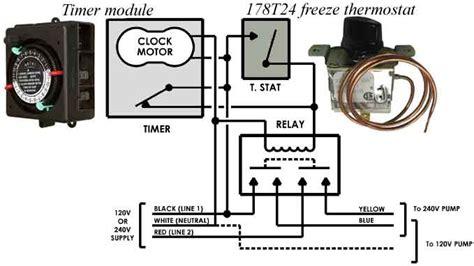 Intermatic Freeze Controls Parts