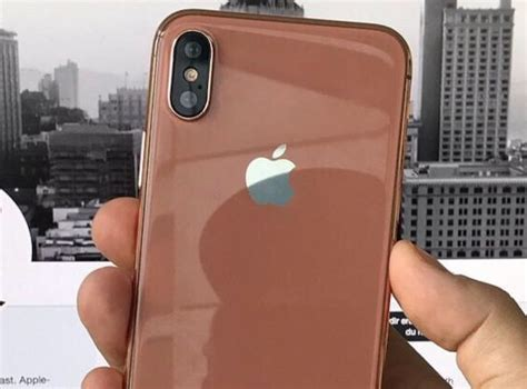 iphone new color the new color of iphone 8 would be called quot blush gold quot