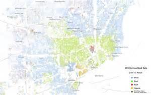Racial Dot Map Detroit