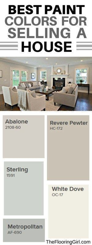 what are the best paint colors for selling your house