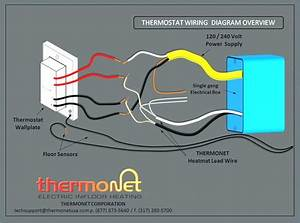 Wiring Diagram Baseboard Heater Thermostat