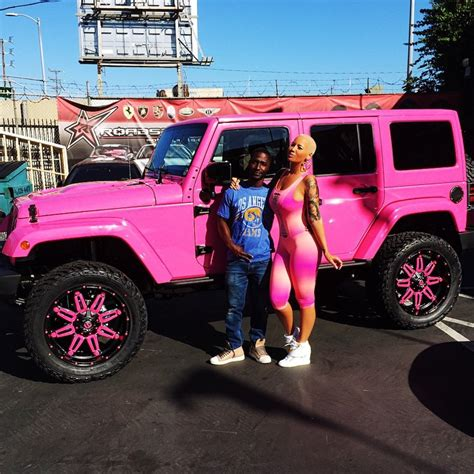 jeep pink matte pictures celebrity cars blog
