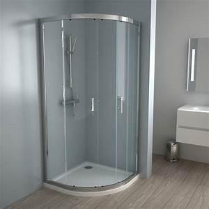 porte de douche coulissante 90 cm wikiliafr With porte de douche coulissante avec meuble de salle de bain style romantique