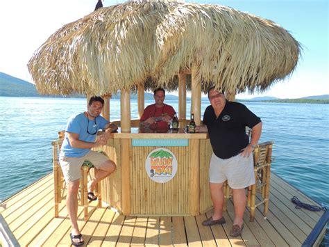 Tiki Bar Boat by Their Tiki Bar Boat On Lake George Glens Falls Chronicle