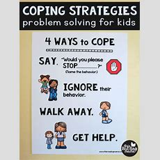 Coping Strategies  Free Problem Solving Chart For Kids (this Reading Mama)  We, Problem