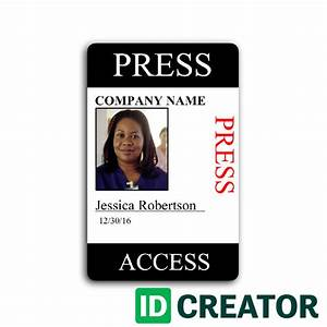 press pass template cyberuse With media pass template