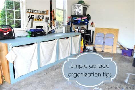 Simple Garage Organization Ideas by Simple Garage Organization Tips Organize And Inspire