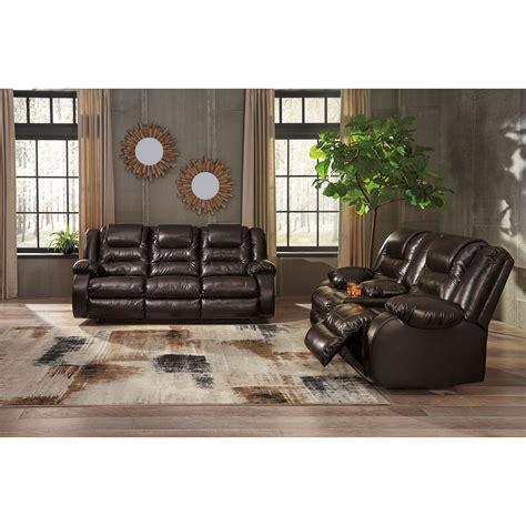 signature design  ashley vacherie reclining living room