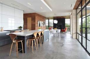 Contemporary Homes Interior Designs Concrete Floors Both A Statement And A Functional Choice For Modern Homes