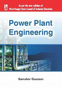 Power Plant Engineering By Samsher Gautam
