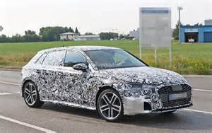 Audi A3 2019 : 2019 audi a3 spied for the first time quad exhaust system looks intriguing autoevolution ~ Medecine-chirurgie-esthetiques.com Avis de Voitures