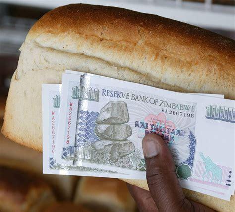 zimbabwe bread   luxury    prices  double  times  africa